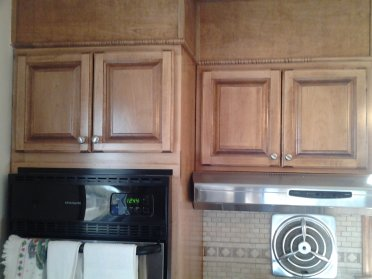 Kitchen Cabinet Cabinets Maple Cherry Stain