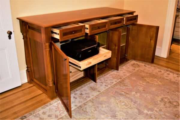 Simmons Credenza open pic